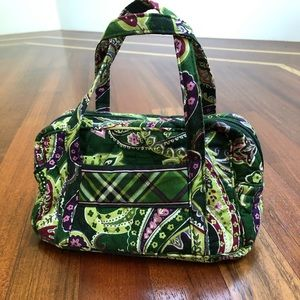 Vera Bradley green mini bag